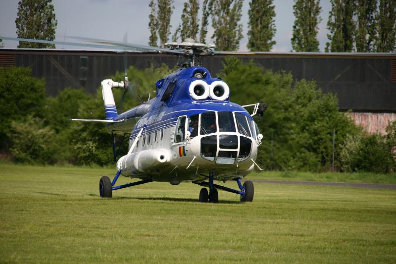 Delivery of completed helicopter