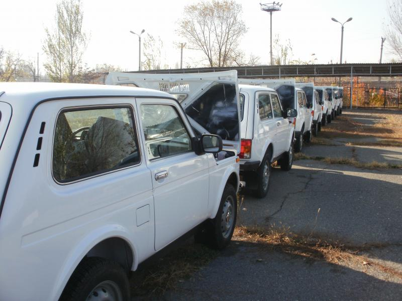 Lada/Niva 4x4's for delivery
